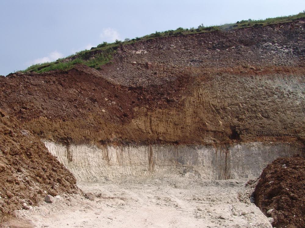 原材料矿区